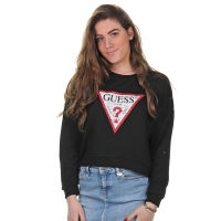 Guess jeans Sweater Logo Black
