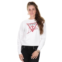 Guess jeans Sweater Basic Icon white