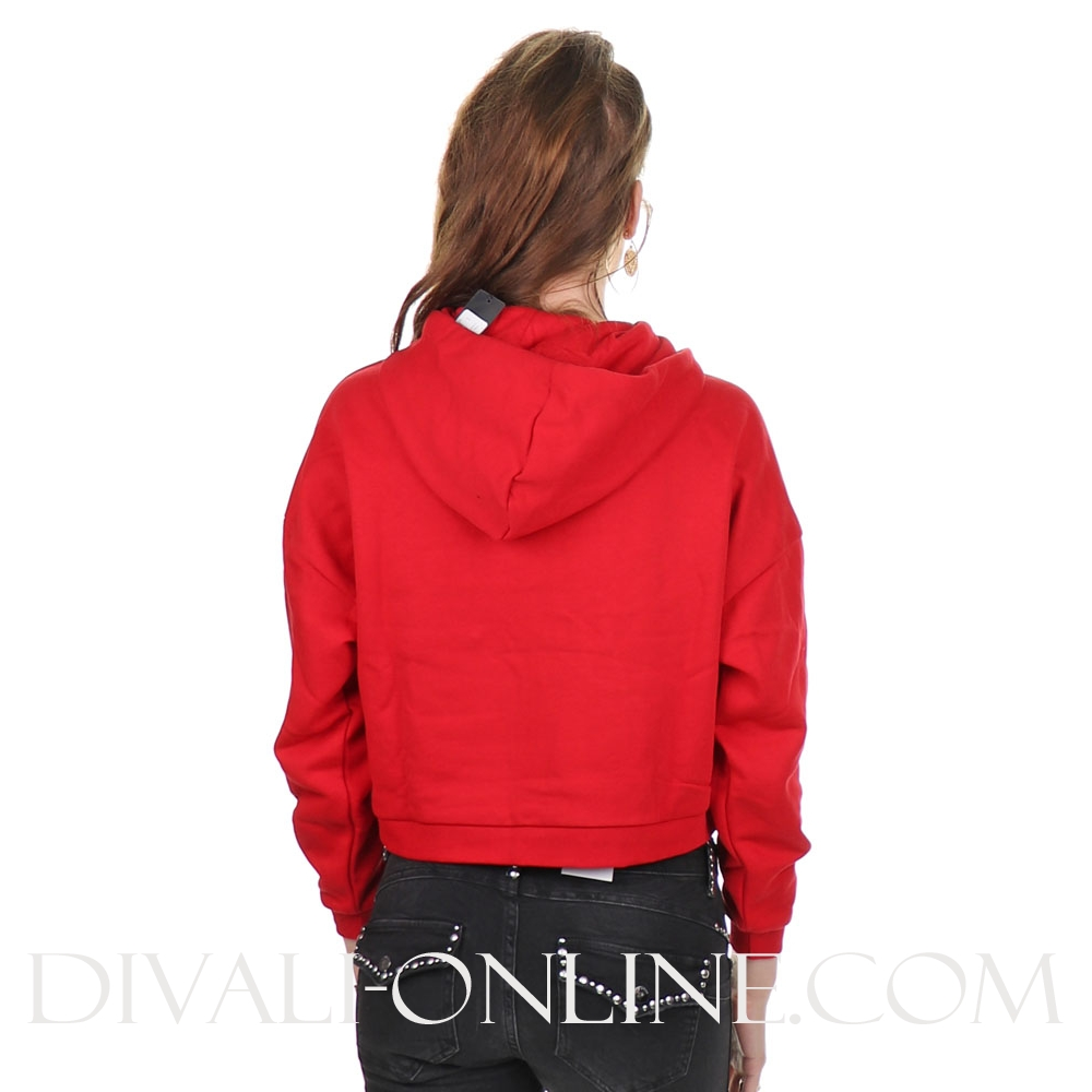 Hoodie Icon Fleece Red