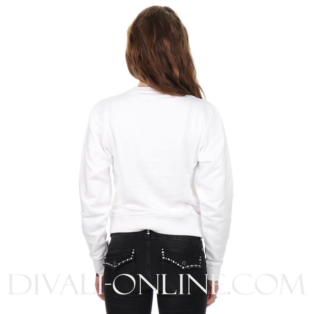Sweater Basic Icon white