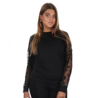 Jacky Luxury Sweater Traveller Lace Black