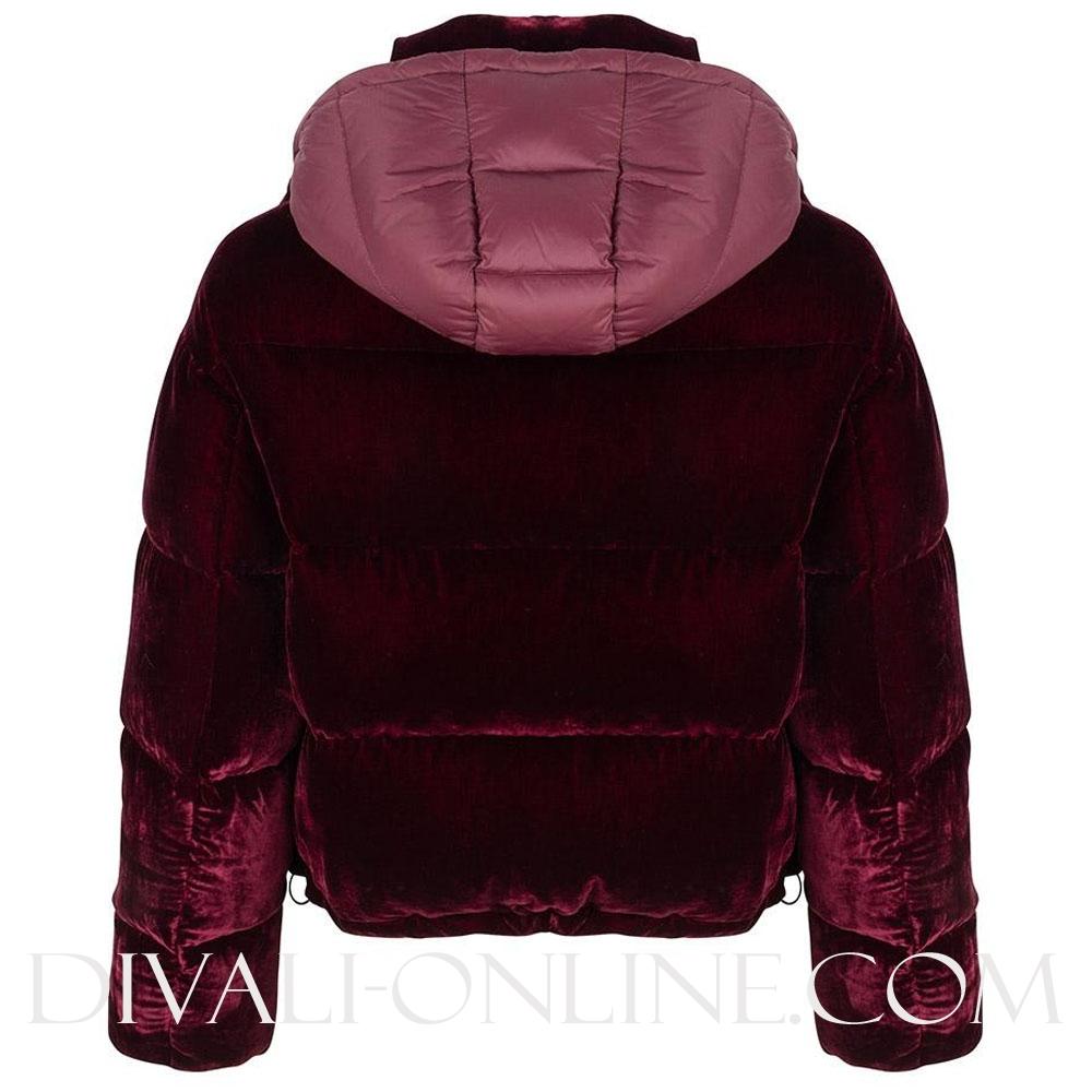 Jacket Velvet Aubergine