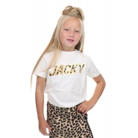 T-Shirt Leopard Artwork White