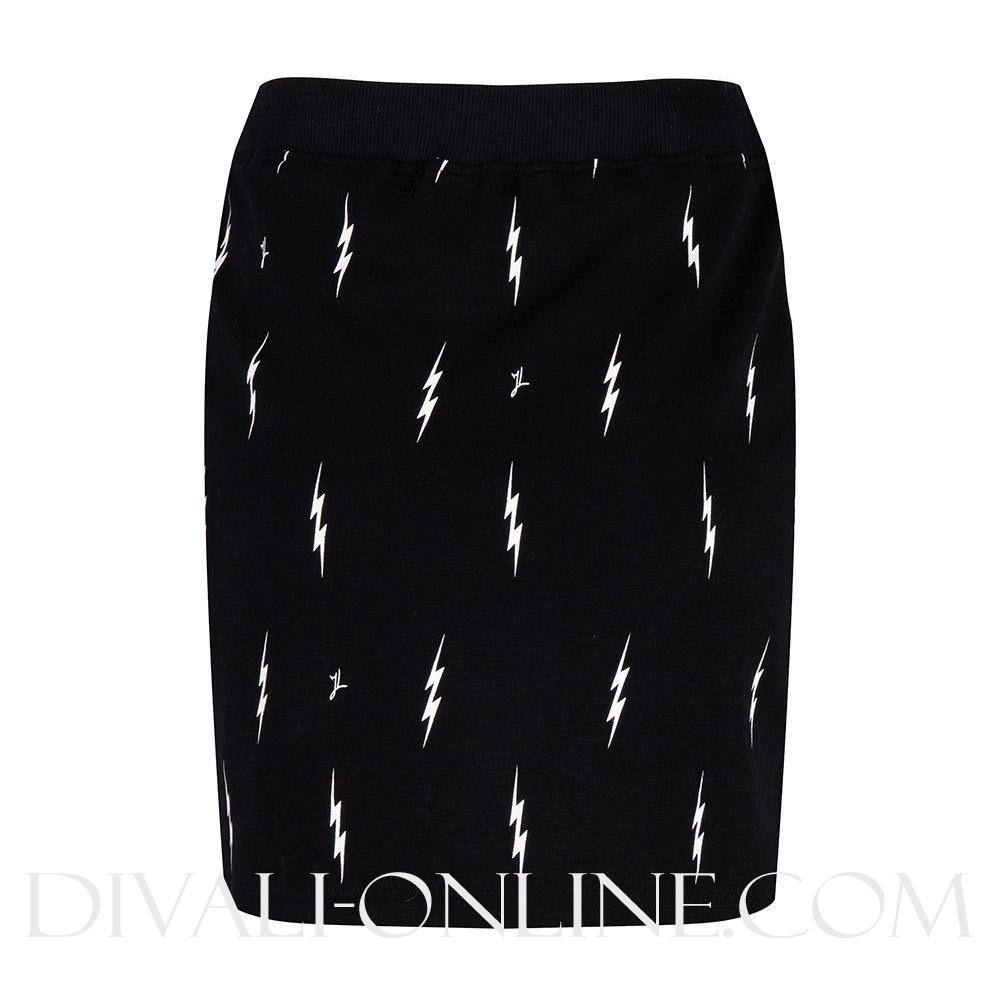 Skirt Jogging Lightning Black