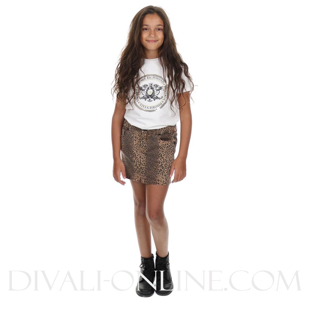 Mini Skirt Leopard