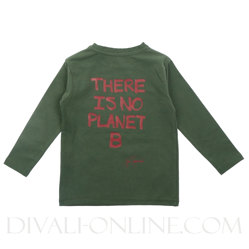 Tshirt Quasmido Green Dark