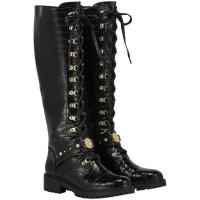 Boots Leonne Black Croc