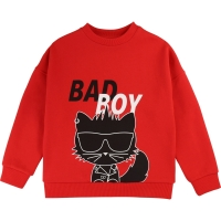 Karl Lagerfeld Kids Sweater Bad Boy Rood