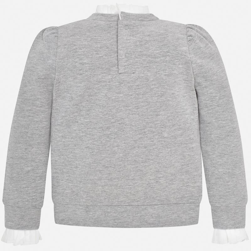 Pullover pretty silver
