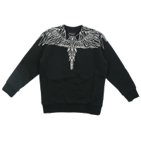 Marcelo Burlon Sweater Wings Neon White