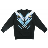 Marcelo Burlon Sweater Eyes Blue