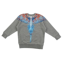 Marcelo Burlon Sweater Big Wings Grey
