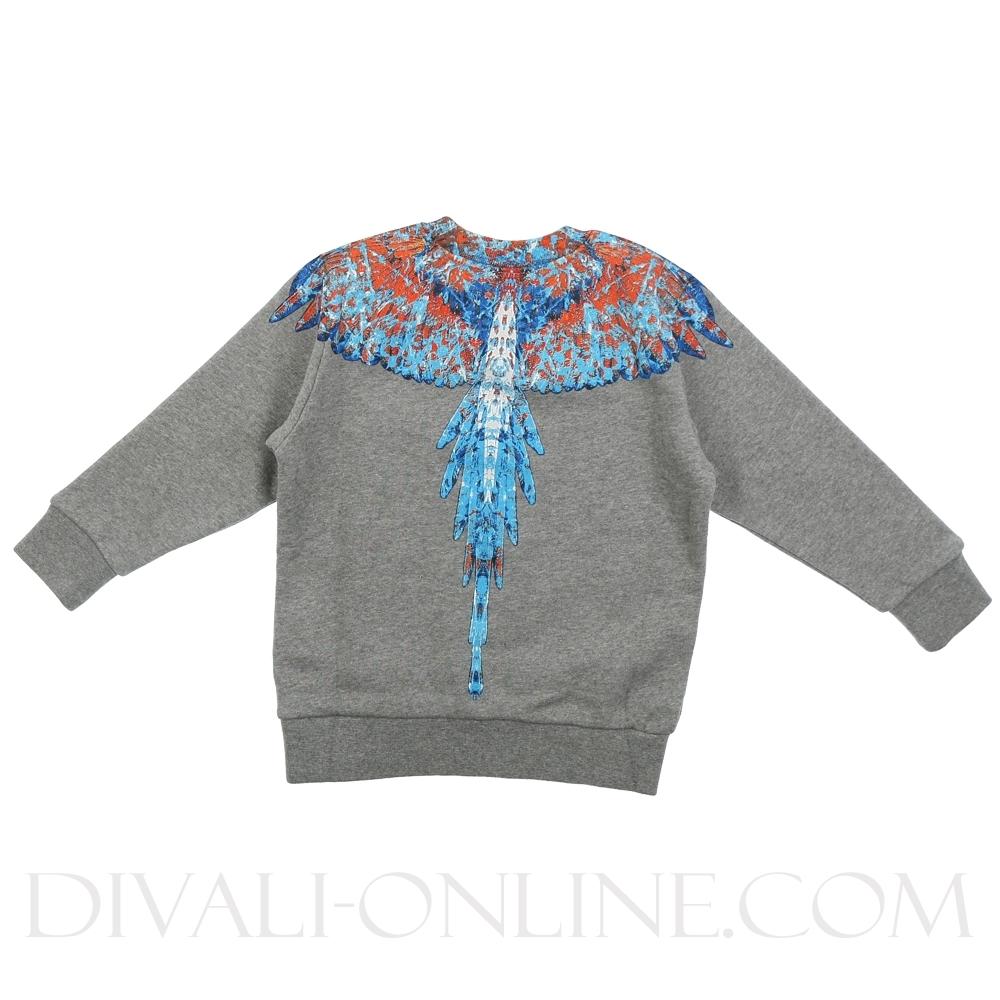 Sweater Big Wings Grey