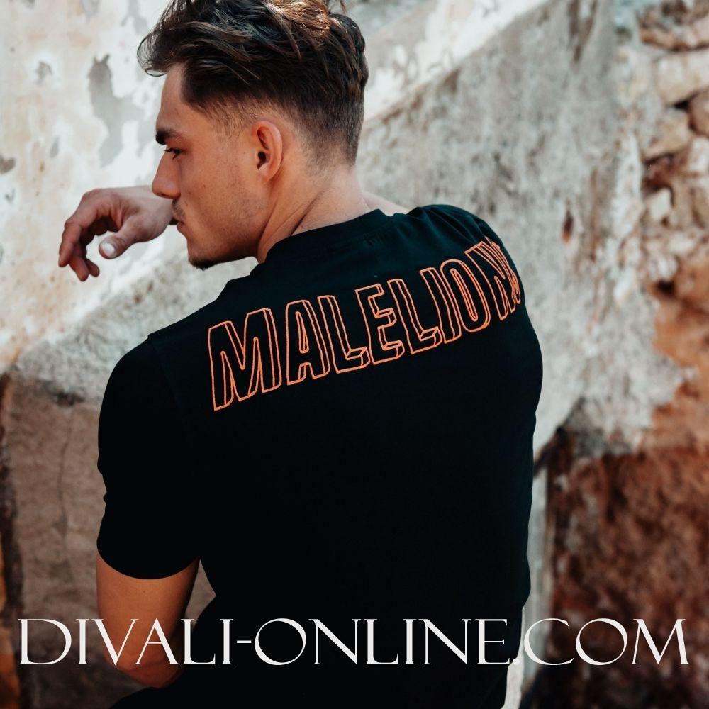 T-shirt 3D Black-Orange
