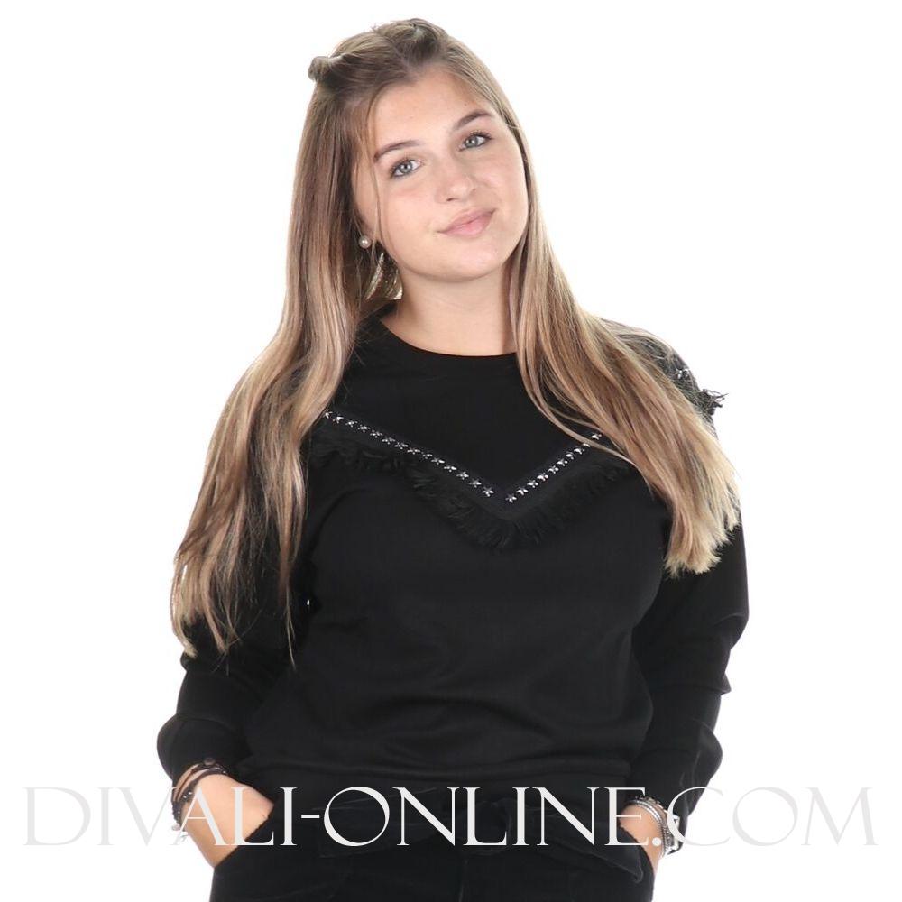 Sweater Scarlet Black