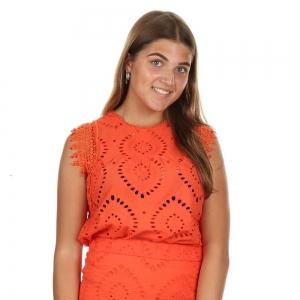 Tarcy Top Tangerine