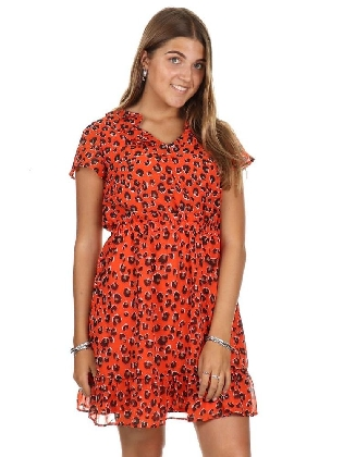 Jurk Dolly Tangerine Leo