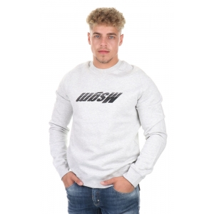 Sweater Upside down Logo Grey
