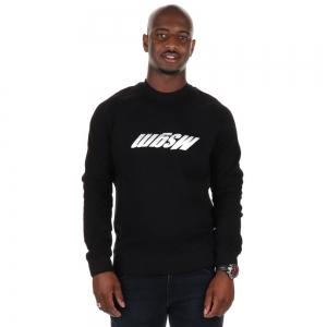 Sweater Upside down Logo Black