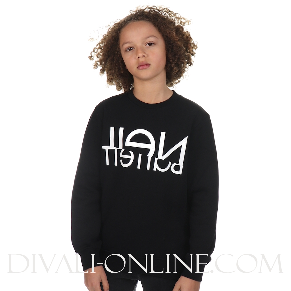 SWEATSHIRT BOY Black