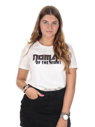 Nomad Of The Night Tshirt Blanc