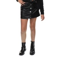 Patricia Pepe Black leather skirt