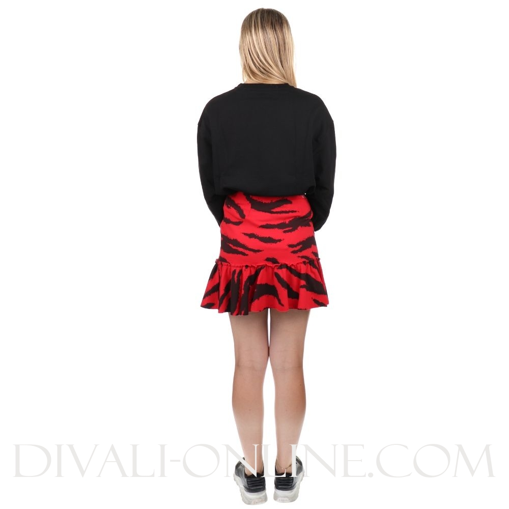 Sweater Red Black