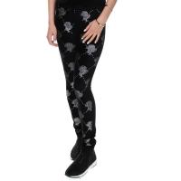 Pants Velvet Headlogo Black