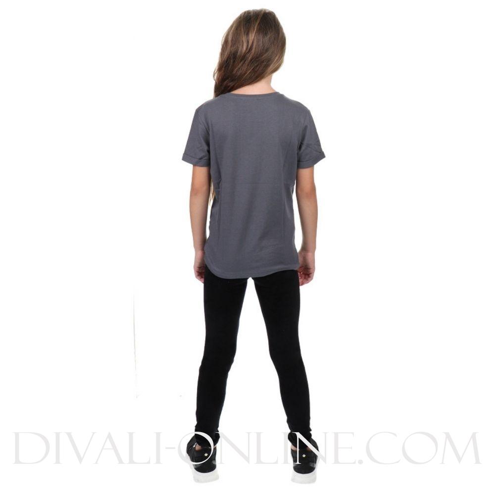 Reinders T-shirt Logo Metal Grey