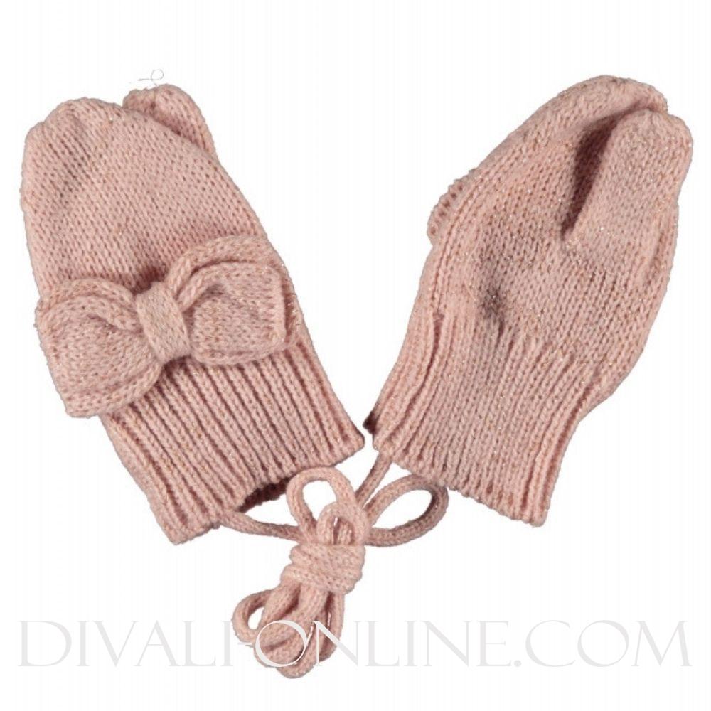 Baby Mittens Victorian Pink