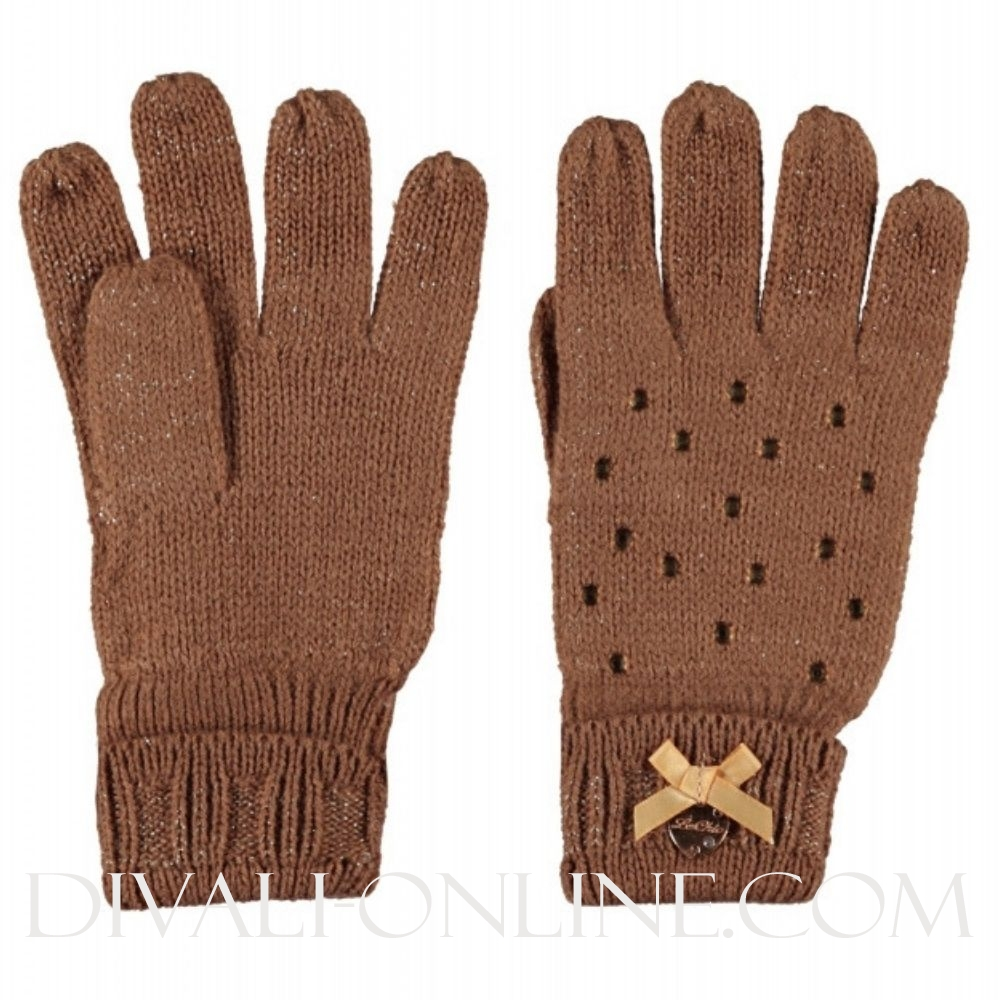 Knitted Gloves Fields Of Gold