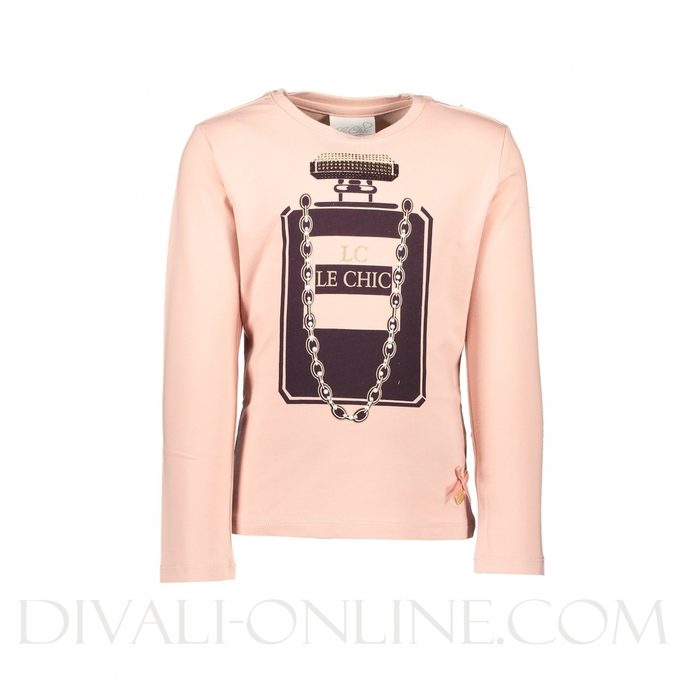 T-shirt Perfume & Necklace Victorian Pink