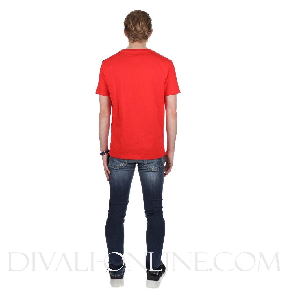 T-shirt Oversized Logo Flame Scarlett