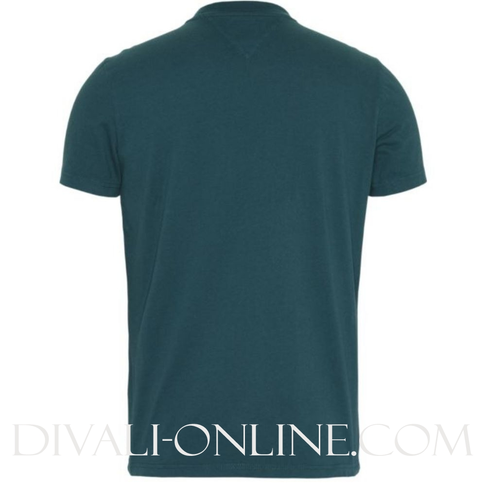 T-shirt Logo Script Atlantic Green