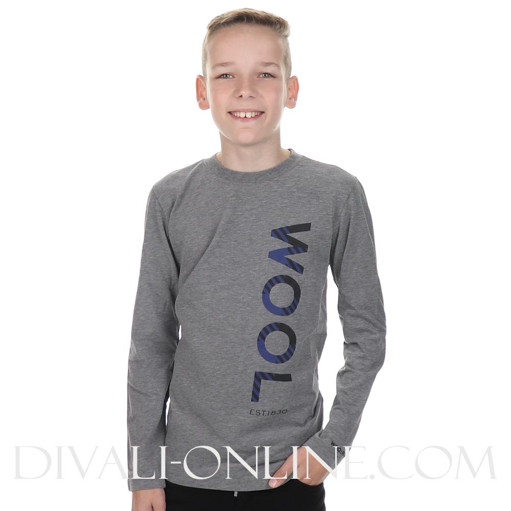 T-shirt Buffalo Wool Grey