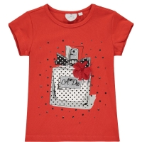A Dee Perfume T-shirt Adena Poppy Red