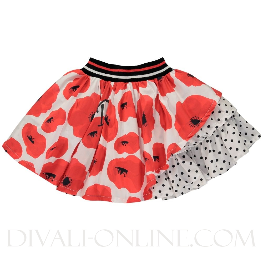 Poppy Skirt Ailia Poppy Red