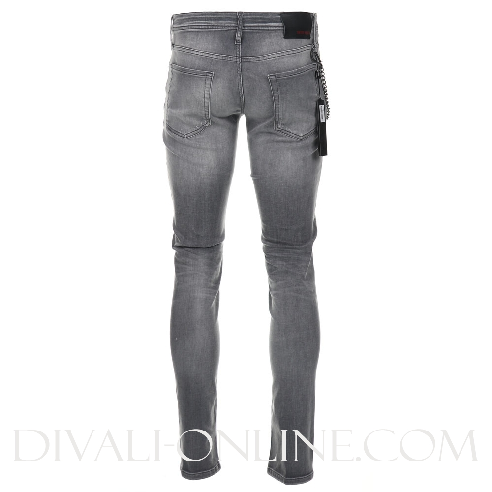 Jeans Tapered Iggy Greey Steel
