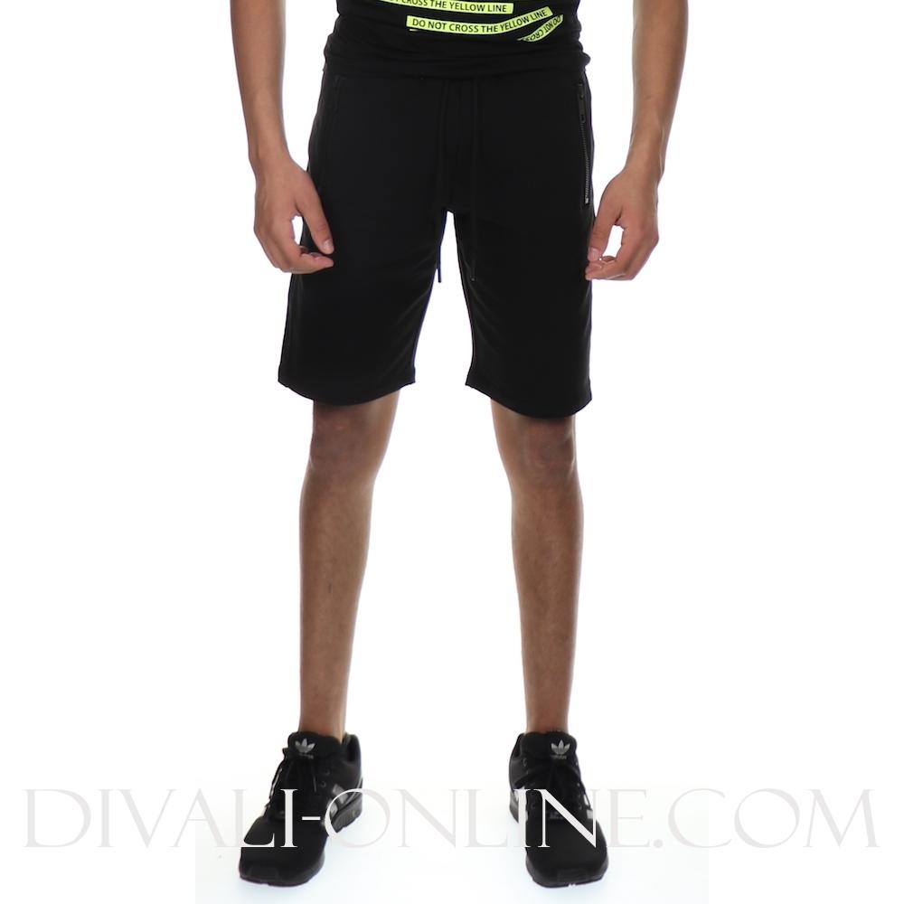Joggingshort Plaquette Black