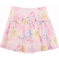 Balloon Chic Skirt pink Roses