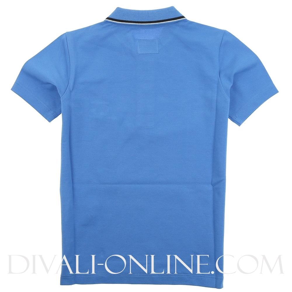 Polo Stretch Cobalt Blue