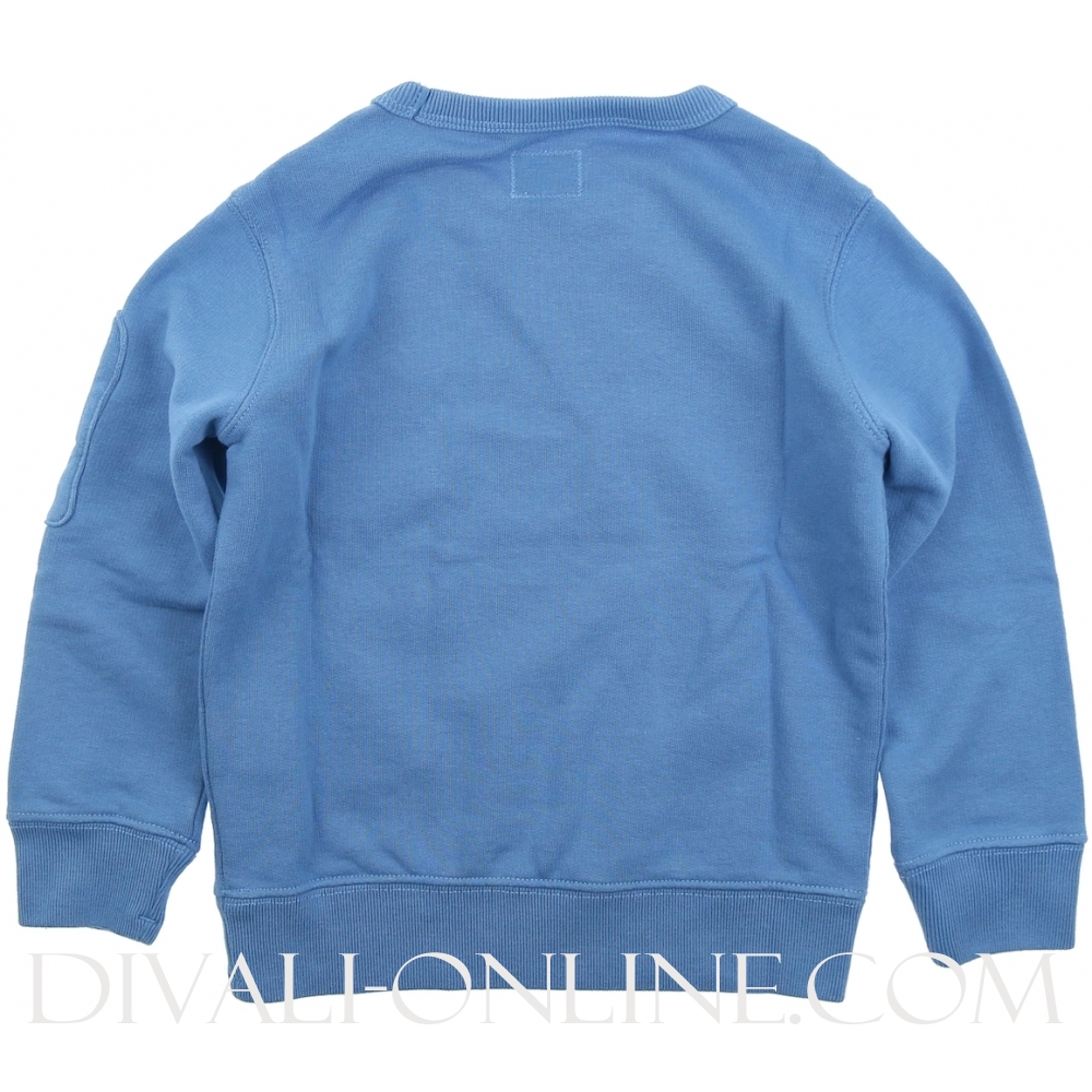 Sweater Fleece Cobalt Blue