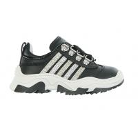 Sneaker Multi Glitter Black