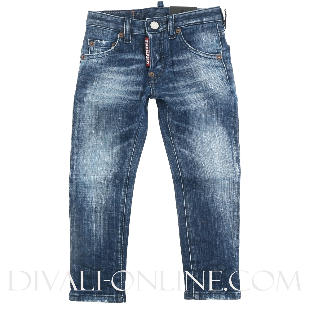 Cool Guy Jean Pantaloni Blue Denim