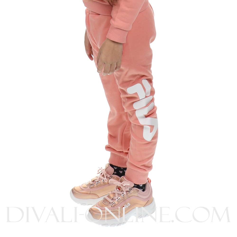 Kids Classic Logo Pants Lobster Bisque