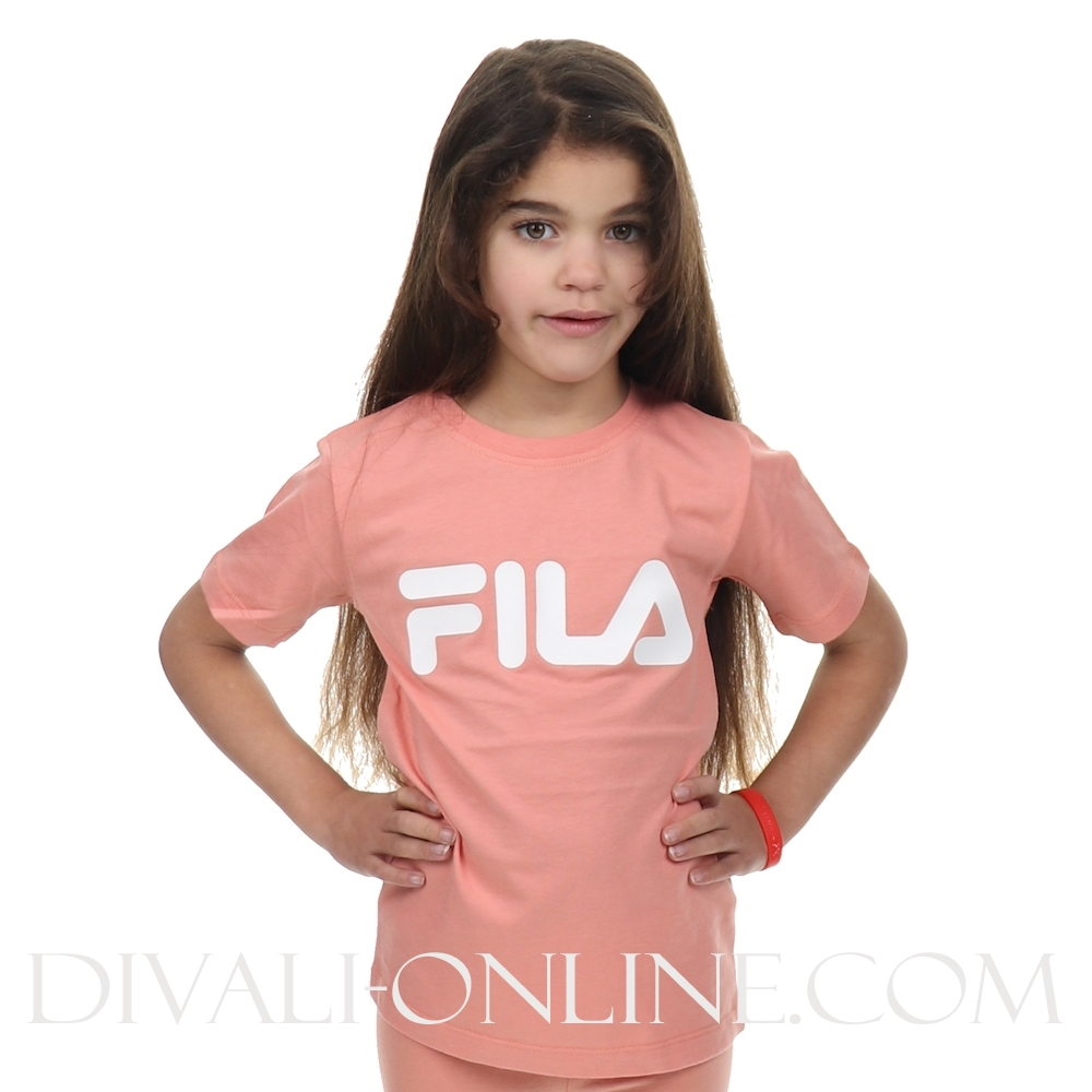 Kids Classic Logo Tee Lobster Bisque