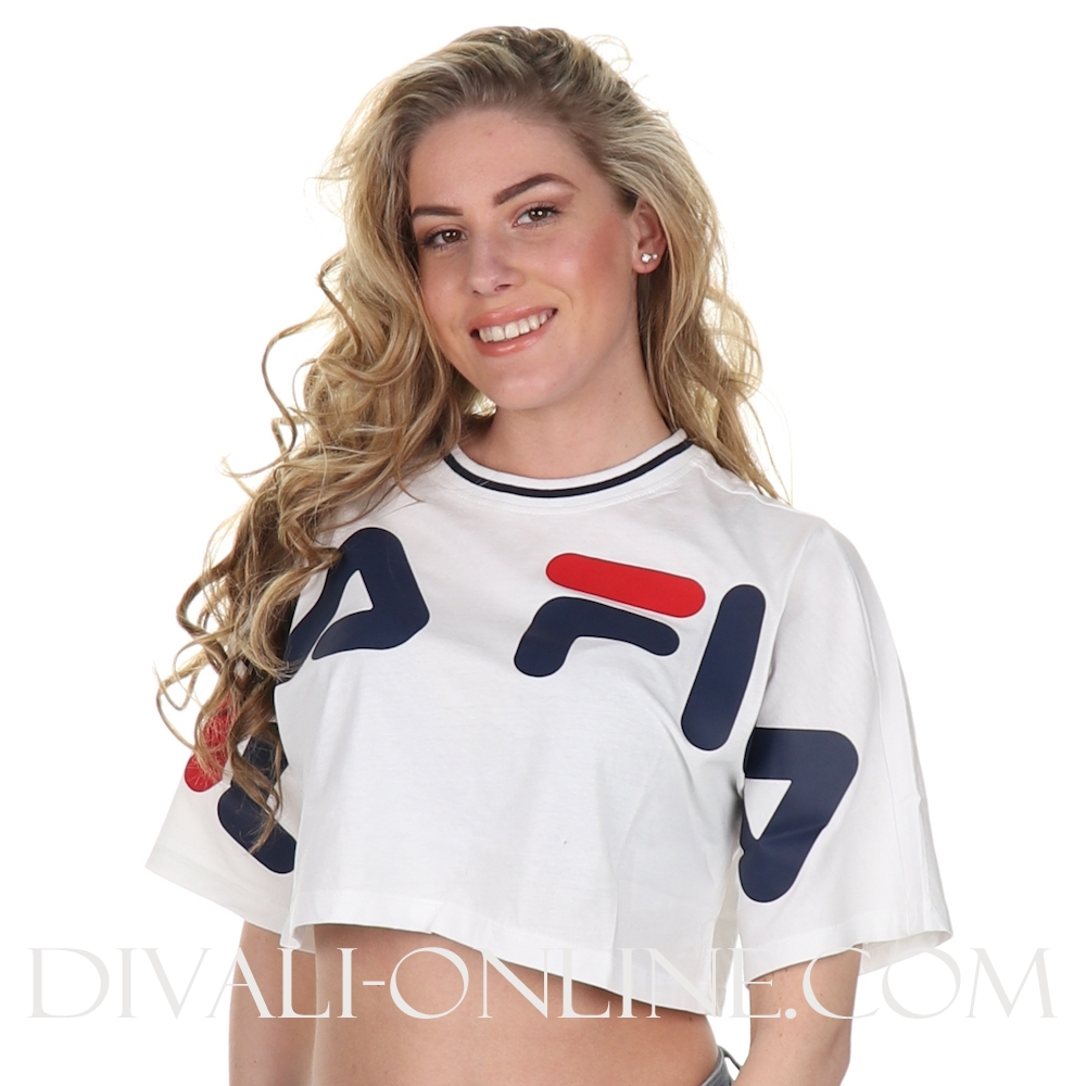 T-shirt Cropped Bright White