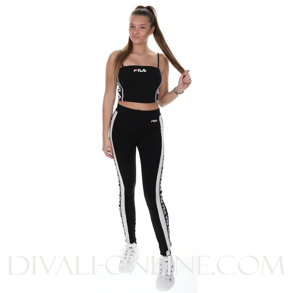 Women Tasya Leggings Black-bright White