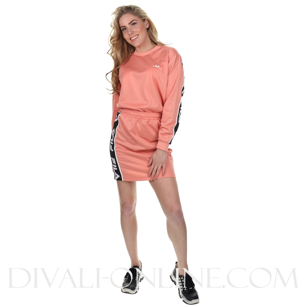 Women Tallis Sweat Shirt Lobster Bisque