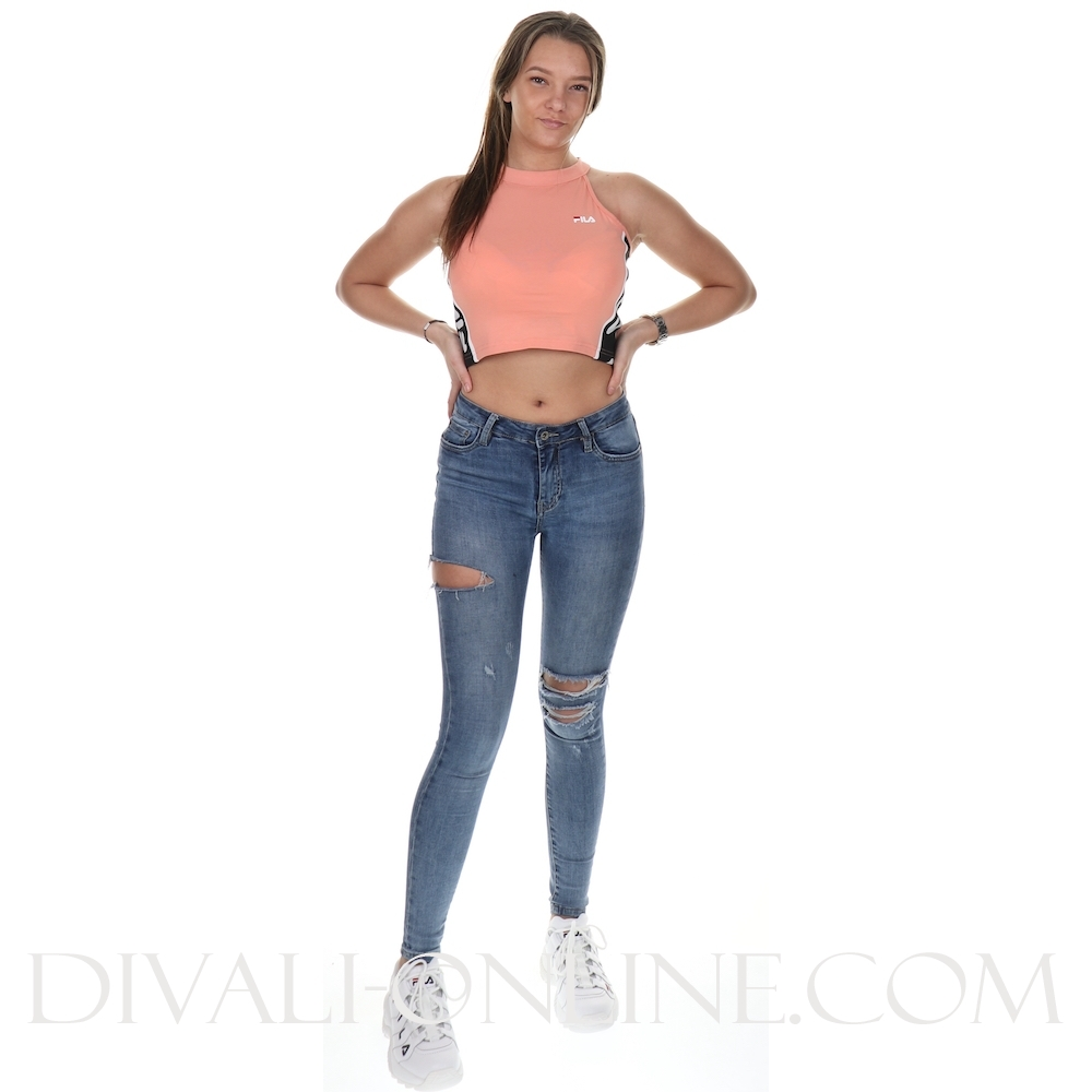 Women Tama Cropped Top Lobster Bisque